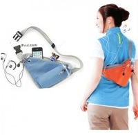 Free shipping  2013 fashion sports multifunctional close-fitting storage waist pack back bag