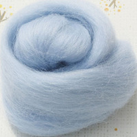 3 wool felt poke fun handmade diy light blue 90 general wool felt wool strip material (100g per pack)Free shipping