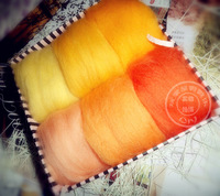Poke fun wool felt diy wool multi color article  Free shipping