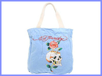 Free shipping cheap ed hardy High quality new fashion handbag,Women's bag with mos discount ed hardy women handbag