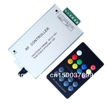 Free shipping 12V 24V  RF Remote led rgb strip music  rgb led controller music