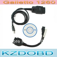 ECU Chip Tuning Interface Galletto 1260 OBD2 EOBD2 Code Reader Remap Flasher Tool 5pcs a lot fast ship