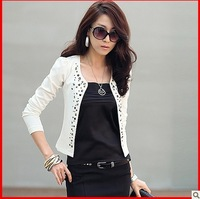 jackets women new arrival women's casual  long-sleeve short jacket coat