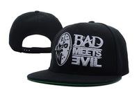 Free shipping West coast bad meets evil snapback baseball cap flat hat