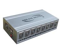 DMX 512 Controller amplifier &dmx splitter,8x3pin signal booster DMX-spliter-A8