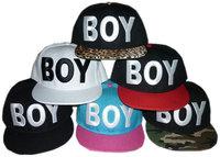 Free shipping Three-dimensional letter boy london rivet flat along the cap hip-hop hiphop skateboard baseball cap