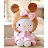 Hellokitty HELLO KITTY biscuits doll girls gift doll kt cat plush toy dolls