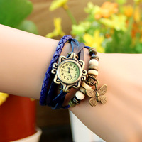 Fashion vintage table ladies watch women's watch fashion decoration table bracelet watch female