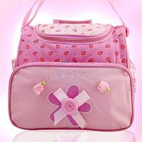Multifunctional nappy bag large capacity fashion cross-body kangaroo small maternal and child bag