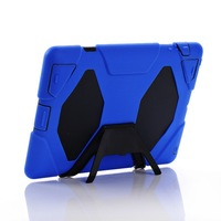 Military Defender Stand Clip Cover Case,2nd generation, water dirt shock proof,for iPad 2 3 4 Retina display