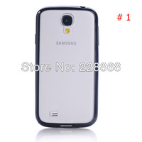 PC TPU Hybrid Transparent Matte Case for Samsung Galaxy S4 S IV i9500
