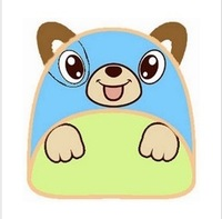2013 child school bag baby backpack cartoon animal style backpack