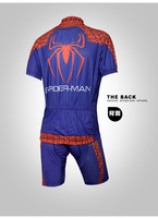 Genuine summer cycling clothing cycling jersey pants men [Spider-Man]