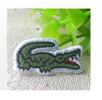 Cute Cartoon  Crocodile alligator  iron on  emboidery patch DIY Sewing Knitting Supplies  1.5*3cm