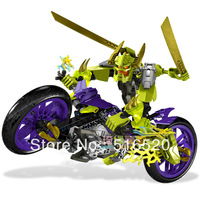 Decool Hero Factory Speeda Demon Motorcycle 10188 Building Blocks Sets 192pcs Legoland Educational DIY Construction Bricks Toys