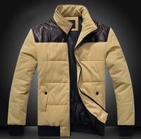 New coats men outwear down  Jacket Coat men clothes cardigan style jacket free shipping 80