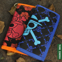 Season isdell ace luffy onepiece luffy design PU long wallet