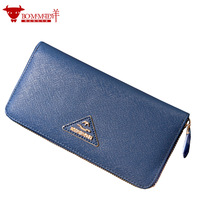 EMS free shipping 2013 4 bag wallet card case cross zipper wallet women's handbag