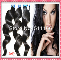 Eurasian loose wave bulk hair for braiding human cosplay bella dream hair 10bundles natural black fast shipping