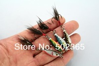 Hot sale16pcs Lead Fishing Lure MINI LEAD FISHING LURE BASS WALLEYE 6.4G Fishing Crank bait Lure Lead Jigs (LB003) free shipping