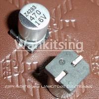 100 PCS  470uF/16V  8*10 mm SMD 16V 470uF Chip Aluminum Capacitor, Electrolytic Capacitor 470uF16V