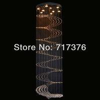 Modern Raindrop Crystal pendant lamp Hanging Light LED modern Lighting