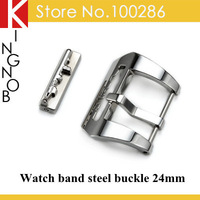 BK-46 Watch band bucke  Stainless Steel Polished Submarine Embossed Buckle 24mm For Panerai watches Free shipping