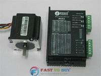 Leadshine 2-phase Stepper motor drive Set (Drive + Motor) M542 + 57HS09 0.9N.m New