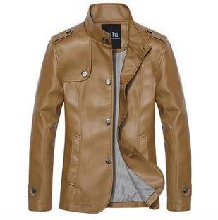 Leather Military Jackets - Jacket