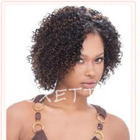 Oxette free shipping Afro kinky curly virgin hair virgin Brazillian full lace wig & front lace wig Brazilian Afro kinky curly