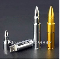 Stainless steel bullet 2GB/4GB/8GB/16GB/32GB/64GB usb flash drive quality personalized gift