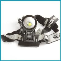 10 PCS/LOT Waterproof Zoomable 1200 Lumens Cree XML T6 Headlamp with Adjustable Focus