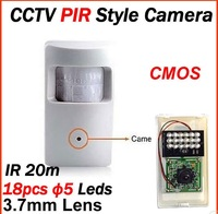 2013 security indoor cctv mini PIR Style surveillance camera 700tvl CMOS IR20M free shipping
