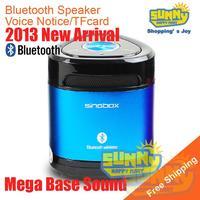 Free Shipping!Singbox New Mini Wireless Bluetooth Speaker With Phone PC TF-Card