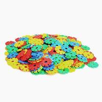 #Cu3 Multicolor Creative Sunflower Building Blocks 3.3cm Kid Educational Toy