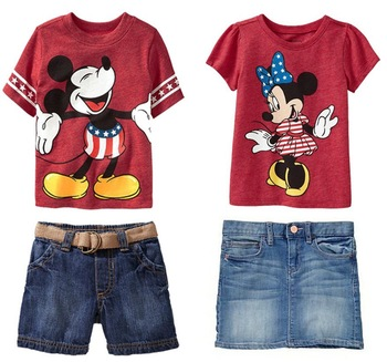new,Boy girl Minnie mouse dress mickey suits,5set/1lot boy's clothing/girl suit, Boys summer clothing,short sleeve t-shirt+jeans