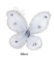 Free Shipping! Wedding Decoration Beautiful Organza Butterfly