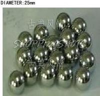 5 pcs Dia/Diameter 25 mm bearing balls Carbon steel bearings ball in stock