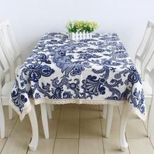 popular cotton linen tablecloths
