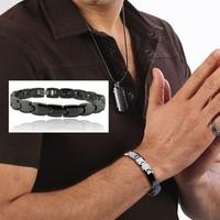Pulseira Magnetic & Ceramic Energy Power Increase Bracelets Health Bangles For Men Women Braccialetti Friendship Jewelry