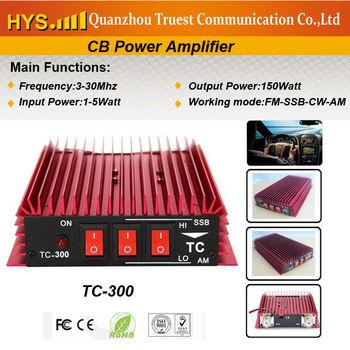 SSB CB power amplifier TC-300+Free shipping+100-150W power