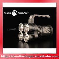 New Arrival 3500 Lumens Blackshadow Terminator 4 x Cree XM-L U2 LED 4-Mode Flashlight (4 x 18650)