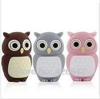 Free shipping!Cartoon owl model USB 2.0 Enough Memory Stick Flash pen Drive 2GB 4GB 8GB 16GB 32GB USB flash drive
