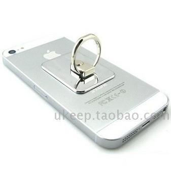 2013  new hot sale Finger ring universal mobile phone holder 360 rotating  for SAMSUNG   millet  for iphone