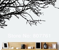 10 piece/lot black Branch wall sticker DIY Wall decor livingroom Fashion Decoration