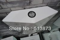 Water tank squat toilet tank energy-saving cisterns double key water tank mute cisterns