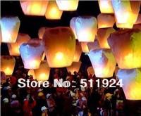 Wholesale Wishing Lantern & lantern chinese lamps  High Quality Fire Retardation Paper 10pcs/lots Free Shipping