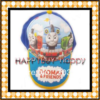 free shipping 20pcs / lot Thomas boys cartoon Kid Child Hat Baseball caps