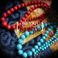 Free Shipping Yaju turcos green beads necklace