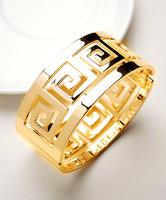 Fashion normic vintage Pulsera de oro 14k  of diamonds elastic bangles charm bracelets 14k gold bracelet